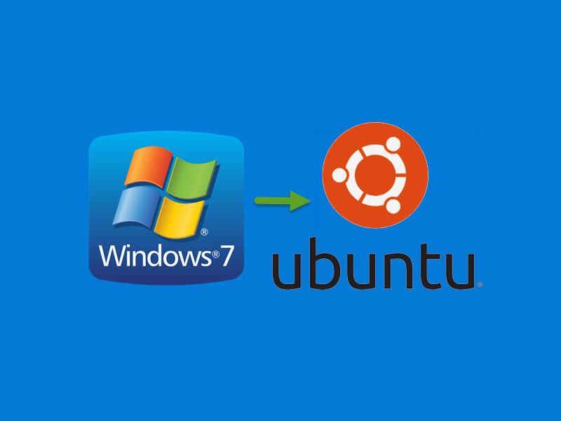 Windows 7 läuft aus. Ubuntu statt neuer PC!