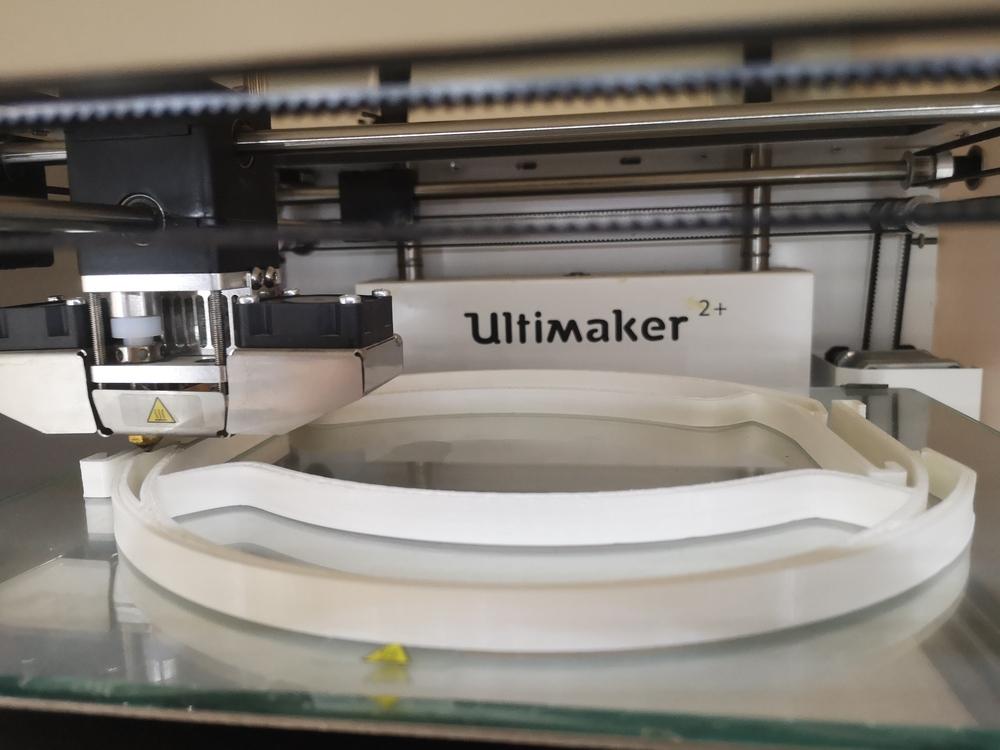 Faceshields gegen Corona aus dem 3D Drucker